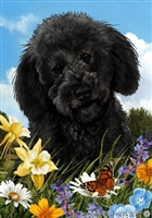 Labradoodle Small Decorative Garden Flag