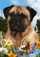 Bullmastiff Small Decorative Garden Flag
