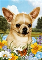 Chihuahua Small Decorative Garden Flag