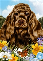 Cocker Spaniel Small Decorative Garden Flag