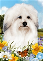 Coton De Tulear Small Decorative Garden Flag