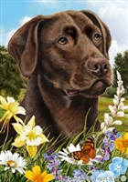 Labrador Retriever Small Decorative Garden Flag