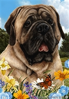 English Mastiff Small Decorative Garden Flag