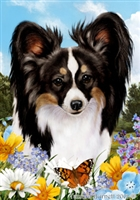 Papillon Small Decorative Garden Flag