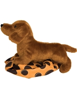 "Dachshund Plush Stuffed Animal ""Dilly"" SaltyPaws.com"