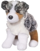 "Australian Shepherd Plush Stuffed Animal ""Steward"" SaltyPaws.com"