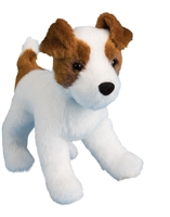 "Jack Russell Terrier Plush Stuffed Animal ""Feisty"" SaltyPaws.com"