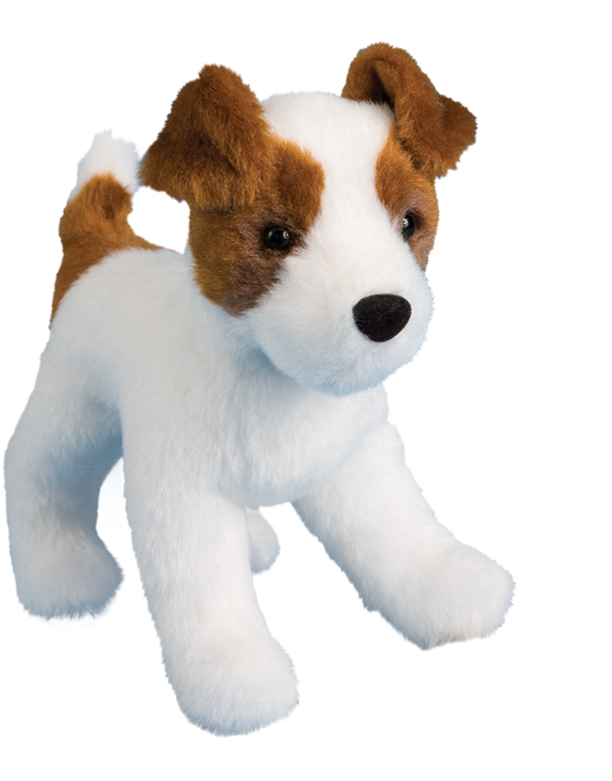 Jack Russell Terrier Plush Stuffed Animal Feisty Saltypaws Com
