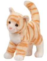"Tabby Cat Plush Stuffed Animal ""Tiffy"" SaltyPaws.com"
