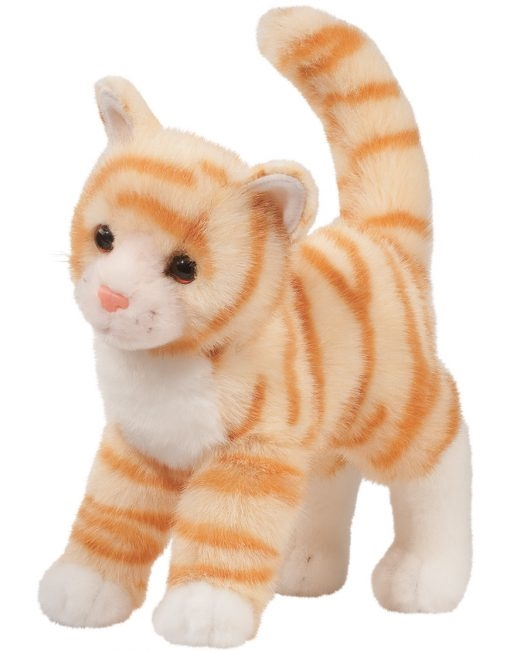 Orange Tabby Cat Plush Stuffed Animal Tiffy Available At Saltypaws Com