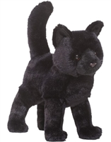 "Black Cat Plush Stuffed Animal ""Midnight"" SaltyPaws.com"