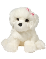"Bichon Frise Plush Stuffed Animal ""Coconut"" SaltyPaws.com"