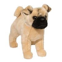"Pug Plush Stuffed Animal ""Russo"" SaltyPaws.com"