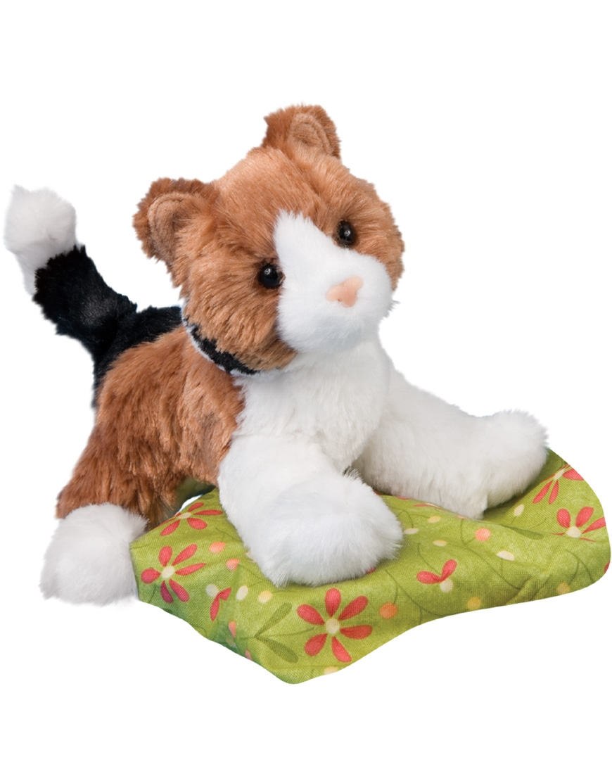 Calico Cat Plush Stuffed Animal Maps Available At Saltypaws Com