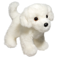 "Bichon Plush Stuffed Animal ""Bailey"" SaltyPaws.com"