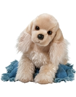 "Cocker Spaniel Plush Stuffed Animal ""Curly"" SaltyPaws.com"