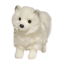 "Pomsky Plush Stuffed Animal ""Phoebe"" SaltyPaws.com"