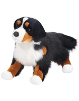 "Bernese Mountain Dog Plush Stuffed Animal ""Alps"" SaltyPaws.com"