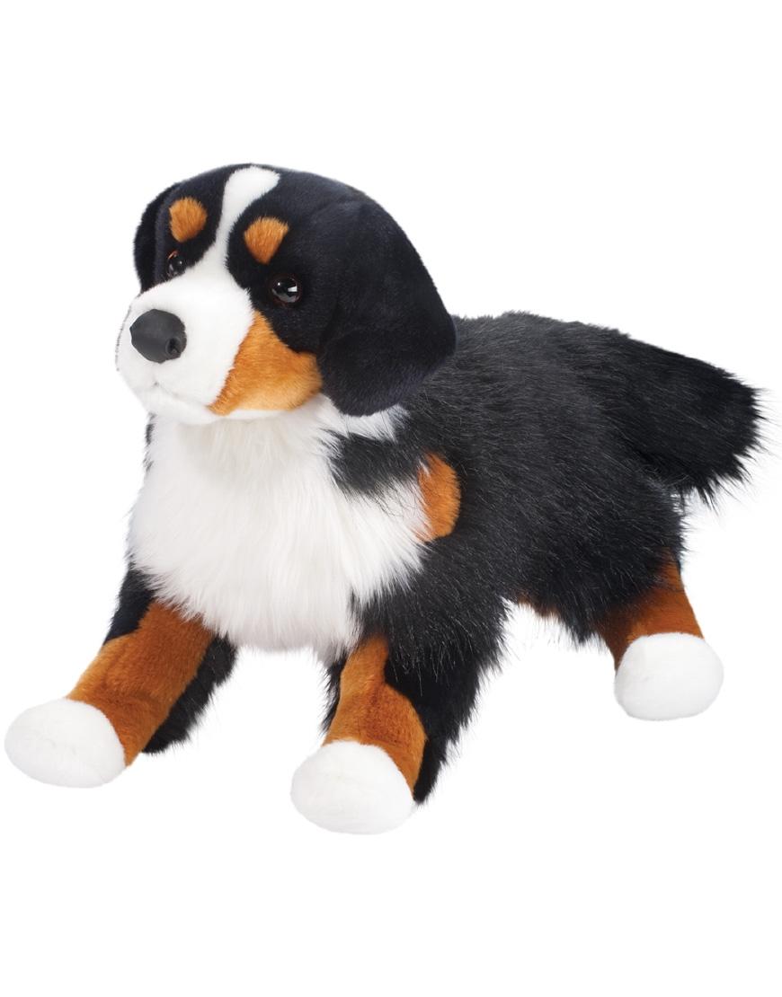 Bernese Mountain Dog Plush Stuffed Animal Alps Saltypaws Com