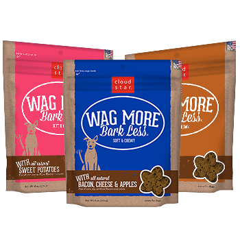 Wag More Bark Less Soft & Chewy Treats SaltyPaws.com