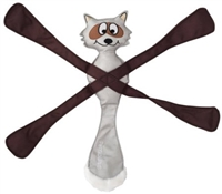 Dog Toy Pentapull Raccoon at SaltyPaws.com