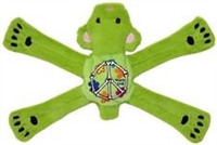Dog Toy Plush Penta Pull Green Bear at SaltyPaws.com