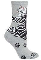 Cat Hug Novelty Socks SaltyPaws.com