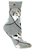 Wire Fox Terrier Novelty Socks SaltyPaws.com