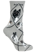 Akita Novelty Socks SaltyPaws.com