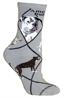 American Bulldog Novelty Socks SaltyPaws.com