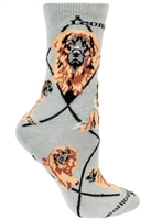 Leonberger Novelty Socks SaltyPaws.com