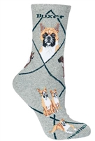 Boxer Novelty Socks SaltyPaws.com