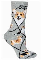 Corgi Pembroke Novelty Socks SaltyPaws.com
