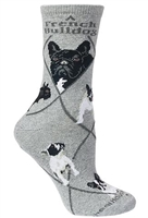 French Bulldog Novelty Socks SaltyPaws.com