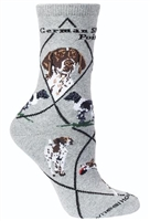 German Shorthaired Pointer Novelty Socks SaltyPaws.com