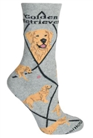 Golden Retriever Novelty Socks SaltyPaws.com