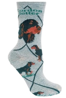 Gordon Setter Novelty Socks SaltyPaws.com