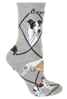 Greyhound Novelty Socks SaltyPaws.com