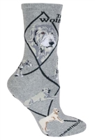 Irish Wolfhound Novelty Socks SaltyPaws.com