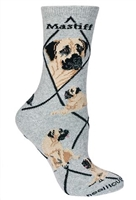 English Mastiff Novelty Socks SaltyPaws.com