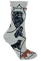 Newfoundland Novelty Socks SaltyPaws.com