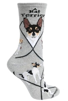 Rat Terrier Novelty Socks SaltyPaws.com