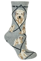 Wheaten Terrier Novelty Socks SaltyPaws.com