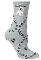 Cockapoo Novelty Socks SaltyPaws.com