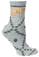 Goldendoodle Novelty Socks SaltyPaws.com