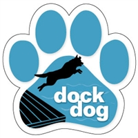 Dock Dog Paw Magnet for Car or Fridge
