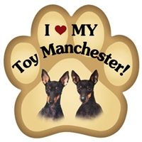 Toy Manchester Paw Magnet for Car or Fridge