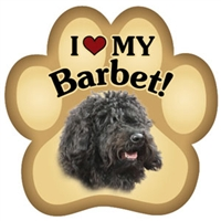 Barbet Paw Magnet for Car or Fridge