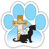 Memorial Cat Magnet for Car or Fridge