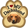 Dachshund Paw Magnet for Car or Fridge